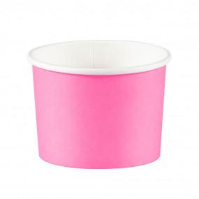 Copos Gelado / Pipocas Rosa Candy - conj. 8