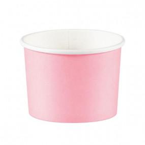 Copos Gelado / Pipocas Rosa - conj. 8