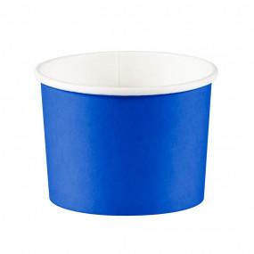 Copos Gelado / Pipocas Azul Royal - conj. 8