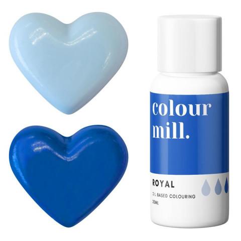 Corante COLOUR MILL Azul Royal– 20ml