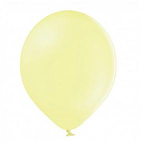 50 Balões Latex Amarelo Pastel 23cm
