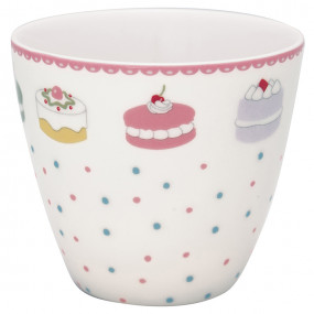 LATTE CUP MADELYN WHITE GREENGATE