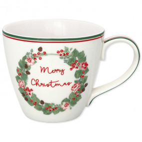 Greengate Chávena Merry Christmas
