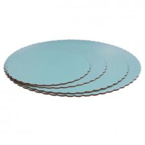 Prato Cartão Azul Claro 25cm