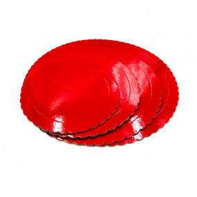 Prato Cartão Vermelho 20cm