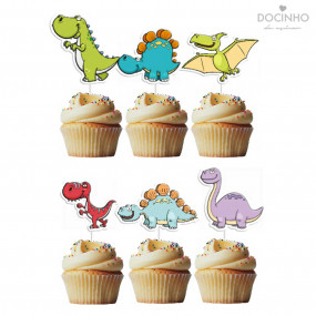 6 Toppers Dino