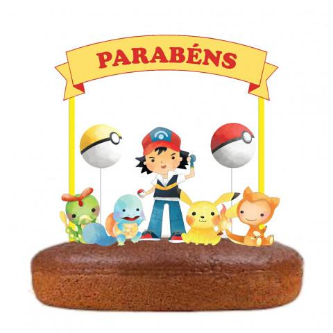 Topo Bolo Pokemon