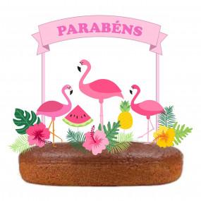 Topo Flamingos