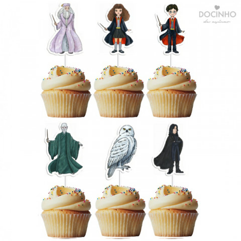 6 Toppers Harry Potter
