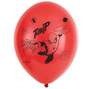 Balões Latex Homem Aranha conj. 6