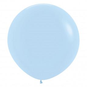 Balão Matte Pastel Azul 60cm