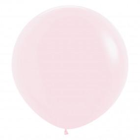 Balão Matte Pastel Rosa 60cm