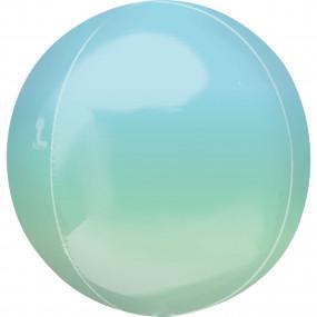 Balão Orbz OMBRE Azul Verde