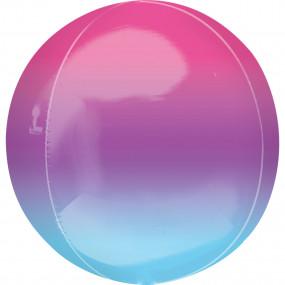Balão Orbz OMBRE Lilás Azul