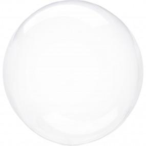 Balão Orbz Transparente 46cm