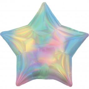 Balão Estrela Holográfica