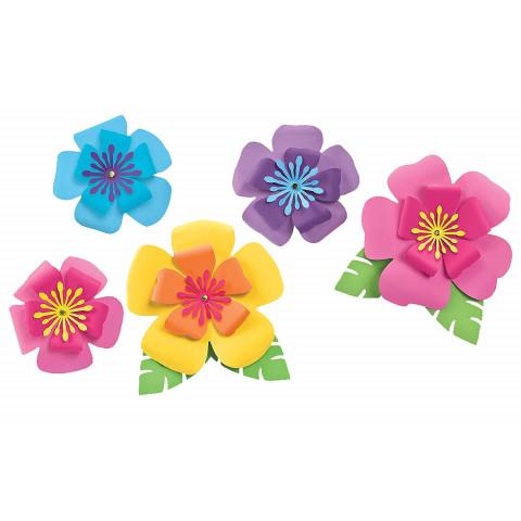 Hibiscus Papel - conj.5