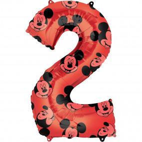 Balão Grande Número Mickey -2