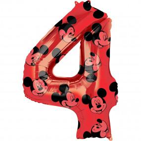 Balão Grande Número Mickey -4
