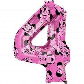 Balão Grande Número Minnie -4