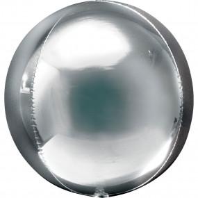 Balão Orbz Prata
