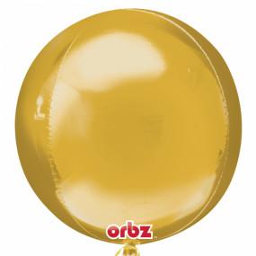Balão Orbz Dourado