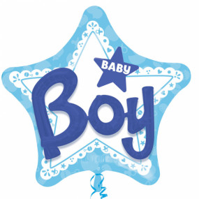 Balão Multi Baby Boy 81cm
