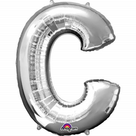 Balão C Prata 86cm