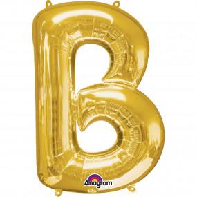 Balão B Dourado 86cm