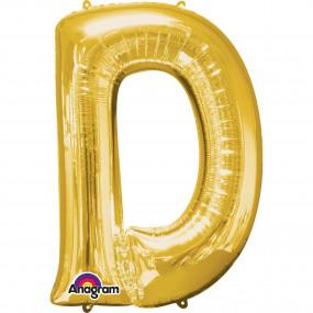 Balão D Dourado 86cm
