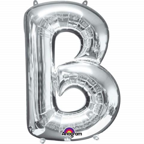 Balão B Prata 86cm