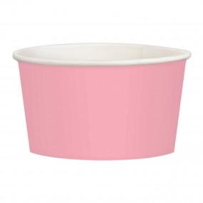 Copos Gelado / Pipocas Rosa Claro - conj. 20