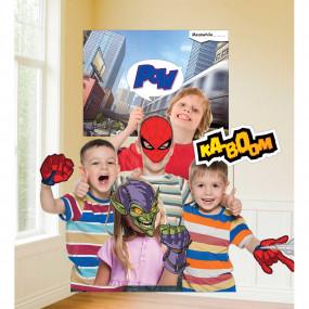 Adereços para Fotografias Spiderman