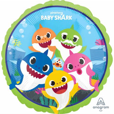 Balão Baby Shark 43cm
