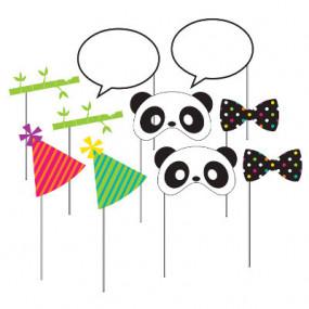Adereços para Fotografias Panda