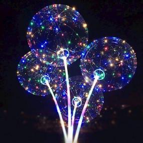 Balão Bubble LEDS Coloridos