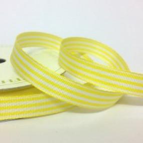 Fita 10mm - Riscas Amarelas