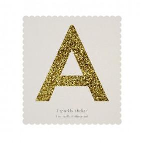 Letra Autocolante Glitter - A