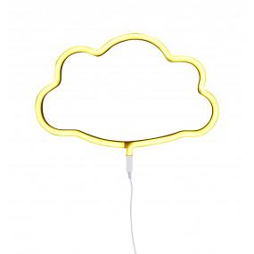 Luz Neon Nuvem Amarelo