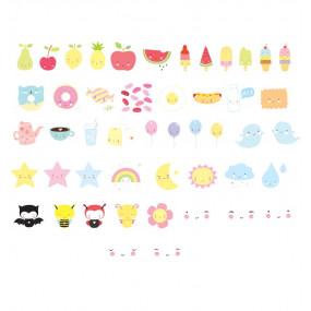 Símbolos Kawaii Para Lightbox