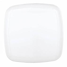 Prato Quadrado Branco 35.5 cm