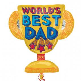 Balão Best Dad 68cm