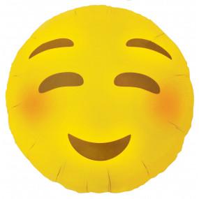 Balão Emoji Corar 46cm