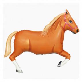 Balão Cavalo Castanho 96cm