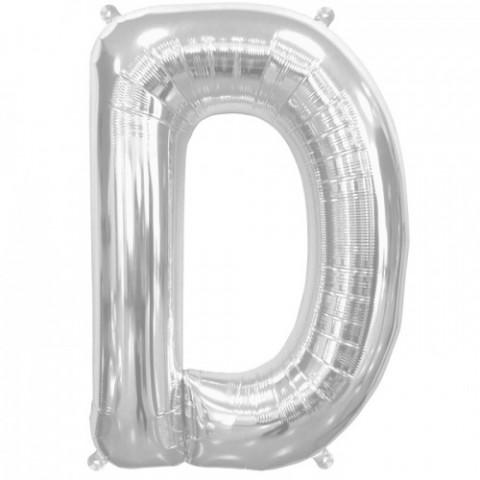 Balão D Prata 40cm