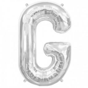 Balão G Prata 40cm