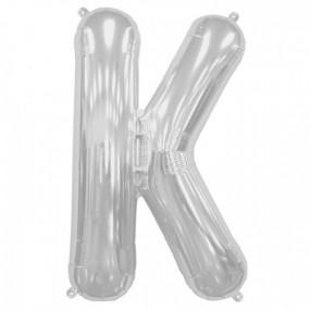 Balão K Prata 40cm