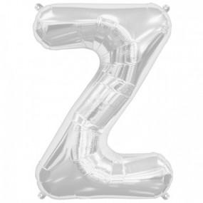 Balão Z Prata 40cm