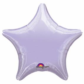 Balão Estrela Lilás 48cm