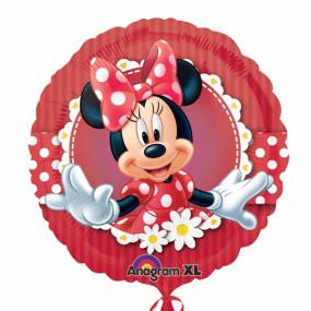 Balão Minnie Vermelha 45cm